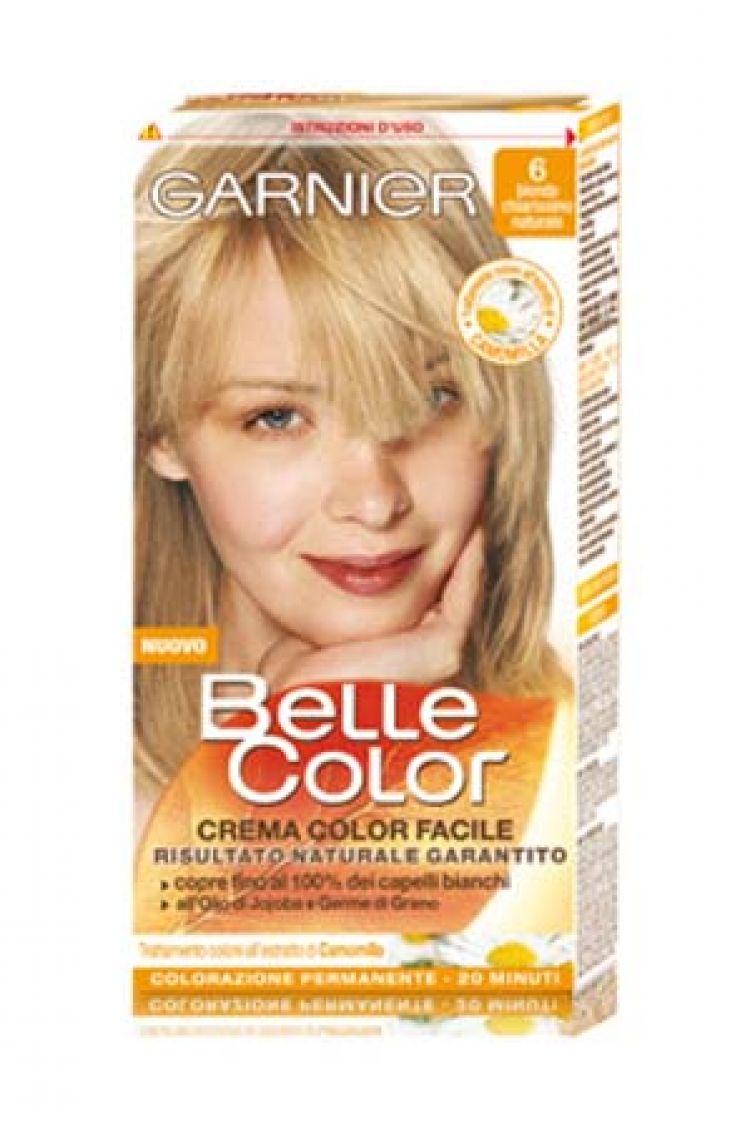 spesso GARNIER Belle Color 6 Biondo Chiarissimo BX54