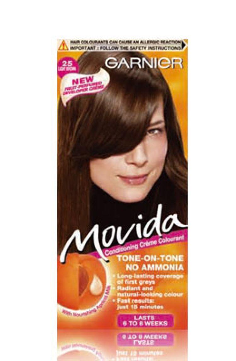 Shampoo colorante per capelli senza ammoniaca