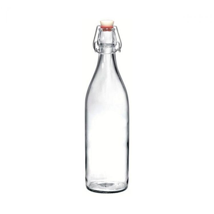 Bottiglia giara con tappo 1l - Ikea bouteille en verre ...