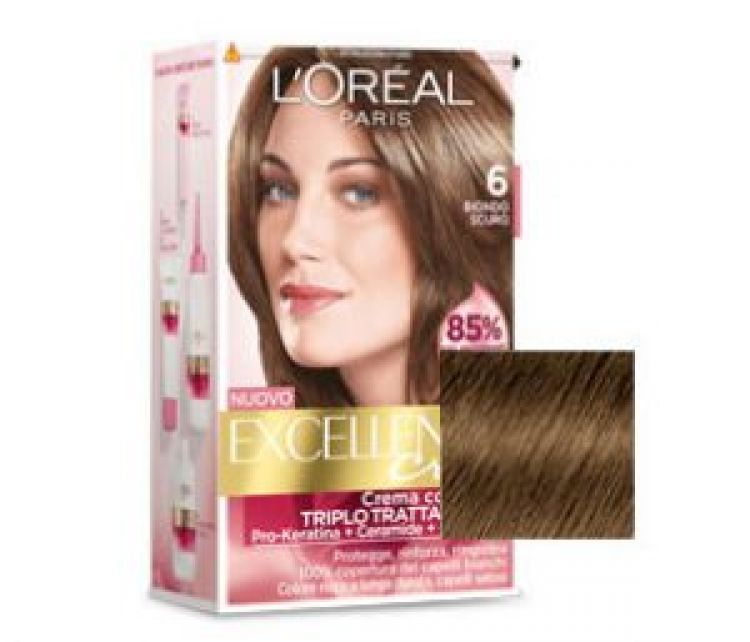 Colore tinta capelli biondo scuro
