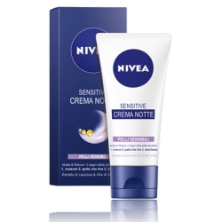NIVEA Sensitive Crema Viso Notte - 50ml