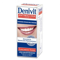 DENIVIT Dentifricio Crema Antimacchia 50 Ml