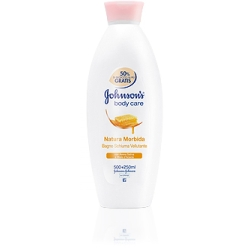 JOHNSON'S Body Care Bagnoschiuma Vellutante con Miele - 750ml