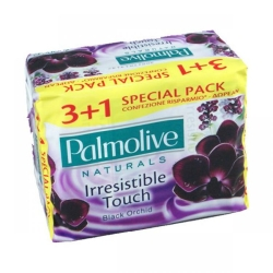 PALMOLIVE Naturals Inresistible Touch Saponetta Black Orchid - 3 + 1pz