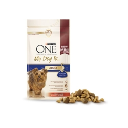FRISKIES Purina One My Dog Is Mini Adult per Cani Taglia Piccola con Manzo e Riso - 800gr