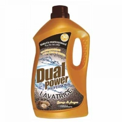 DUAL POWER Professional Detersivo Liquido per Lavatrice all...