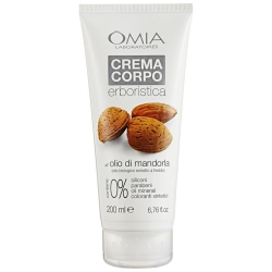 OMIA Laboratories Crema Corpo Erboristica all'Olio di Mandorla - 200ml