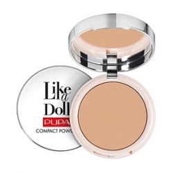 PUPA Like a Doll Compact Powder Cipria Compatta per Tutti i Tipi di Pelle Golden Honey - 005