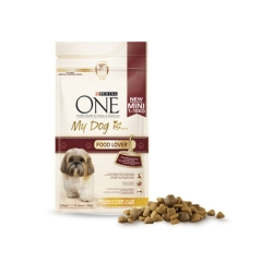 FRISKIES Purina One My Dog Is Mini Food Lover per Taglia Piccola con Tacchino e Riso - 800gr