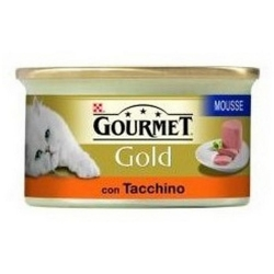GOURMET Gold in Mousse di Tacchino - 85gr