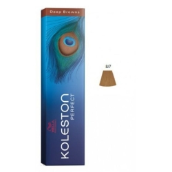 KOLESTON  PERFECT DEEP BROWN 8/7 Biondo Chiaro Sabbia