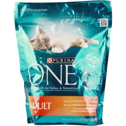 PURINA ONE Adult con Pollo e Cereali Integrali - 800gr
