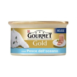 GOURMET Gold in Mousse di Pesce dell'Oceano - 85gr